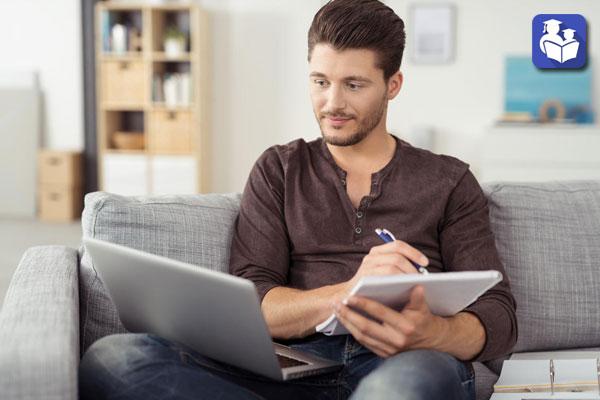 مثل یک موسسه آموزشی آنلاین به کمک شما می آییم
